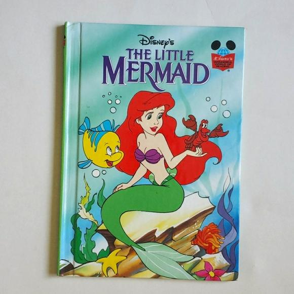 Hardback Disney The Little Mermaid